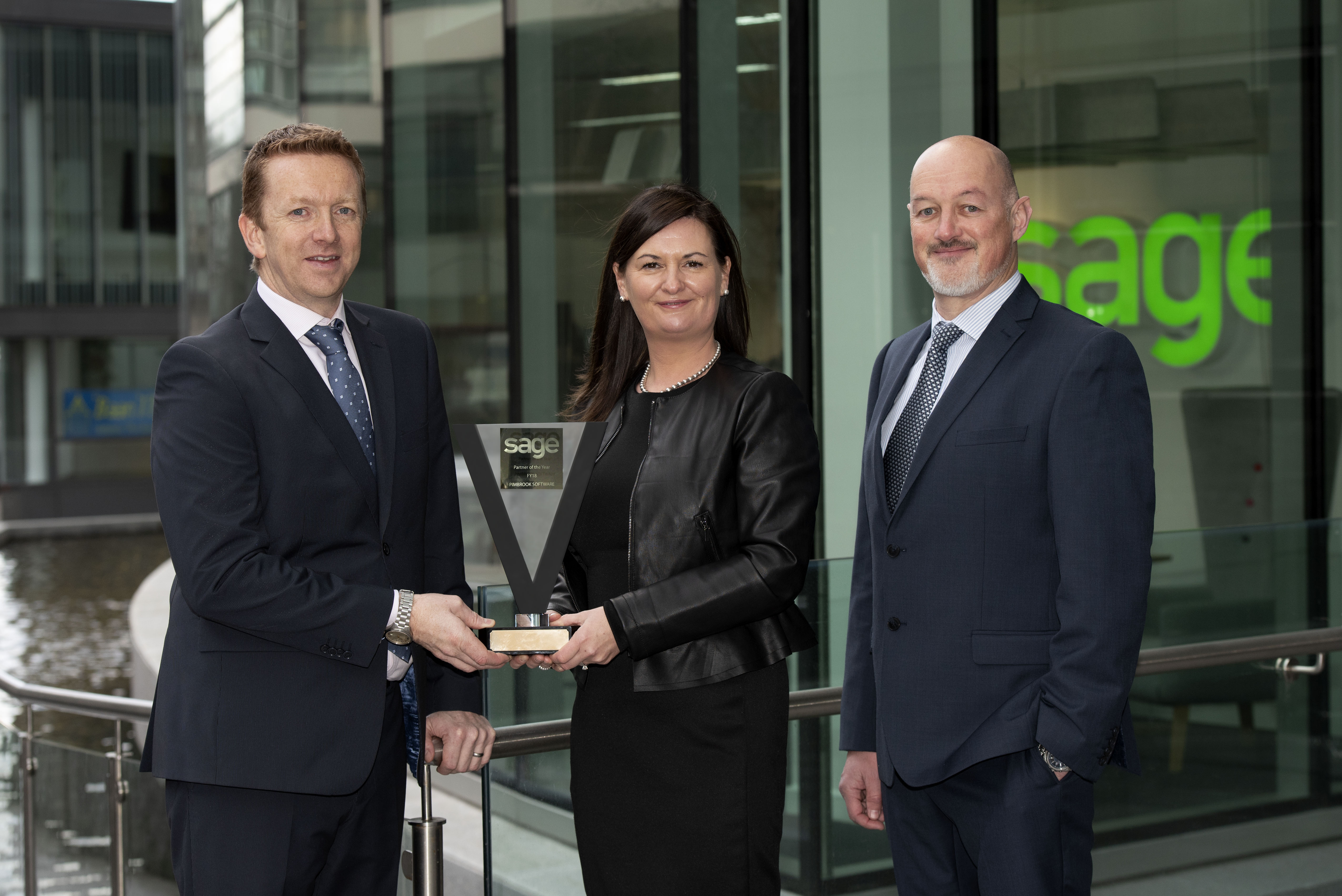 Pimbrook Selected as Sage Partner Of The Year 2018